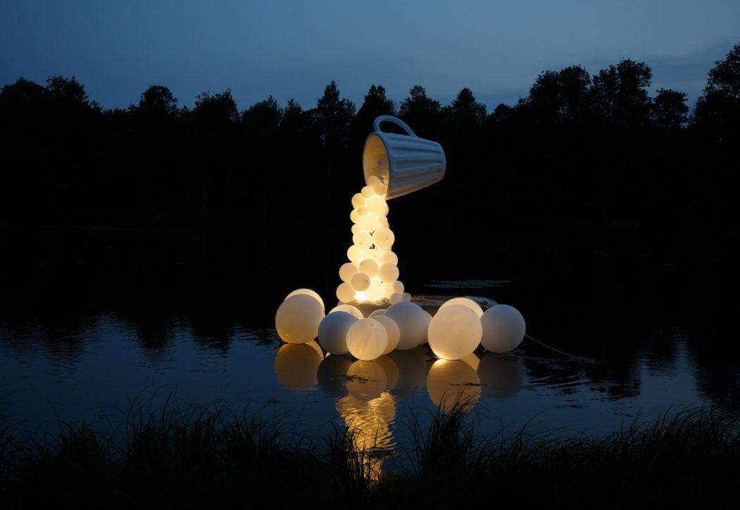 Ночь Света в Гатчинском парке