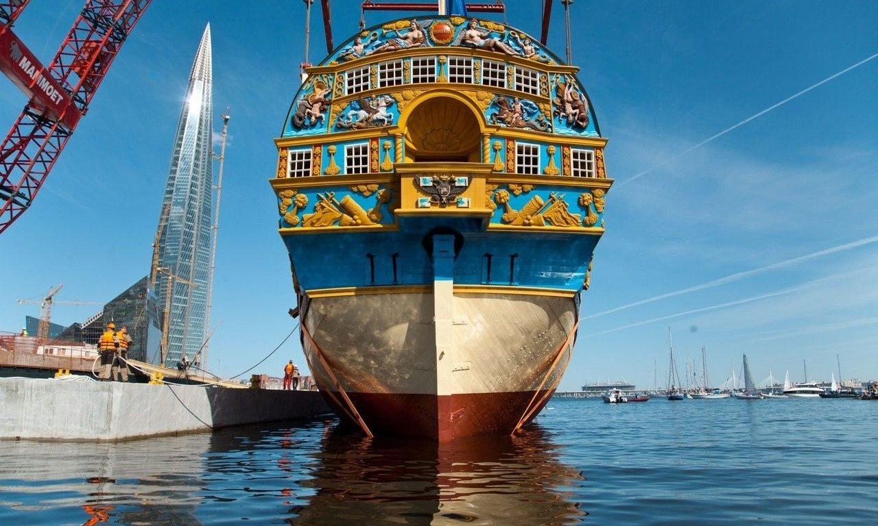 Корабль «Полтава»