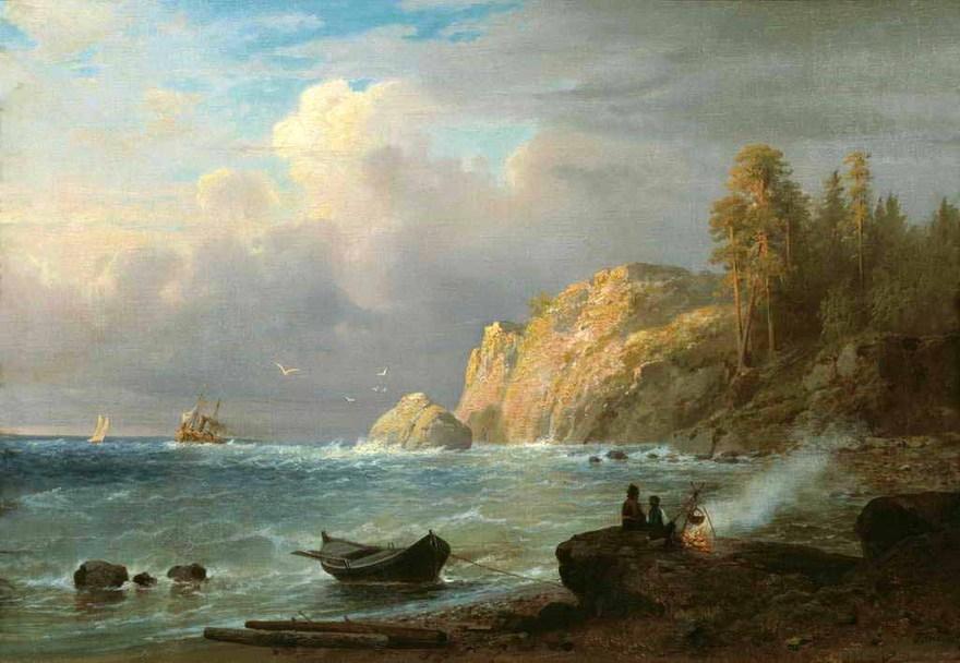 Выставка «Валаам : 200 лет в русской живописи»